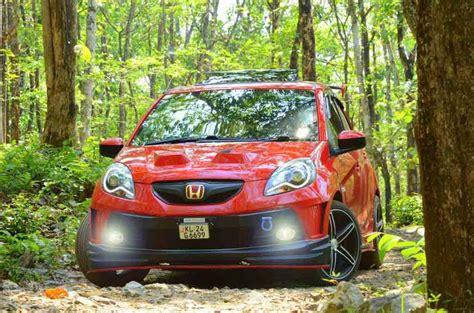 Customized Honda Brio Looks Raging to Race   Gaadiwaadi