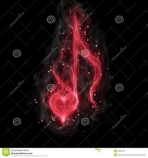 imagenes de notas musicales en forma de corazon nota musical del amor stock de ilustraci 243 n imagen 39682136
