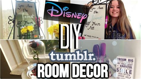 Pinterest Bedroom Decor Ideas by Diy Room Decor Disney Pinterst Inspired Youtube