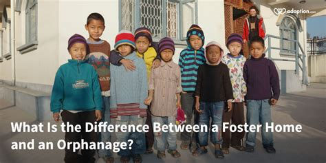 what is the difference between a foster home and an
