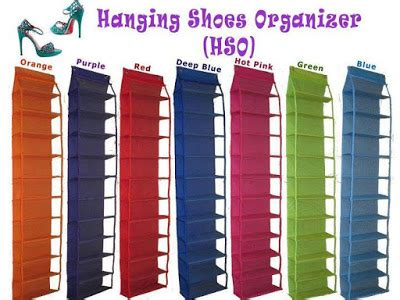 Rak Sepatu Gantung Kain rak sepatu gantung rak tas organizer