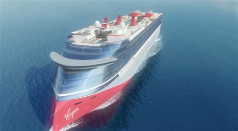 Virgin Cruises Futuristic Ship Design Revealed