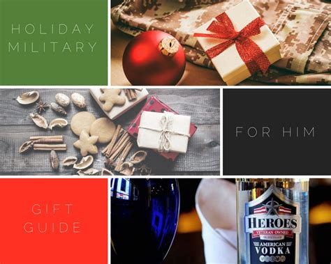 military holiday gift guide series 9 gifts for him army