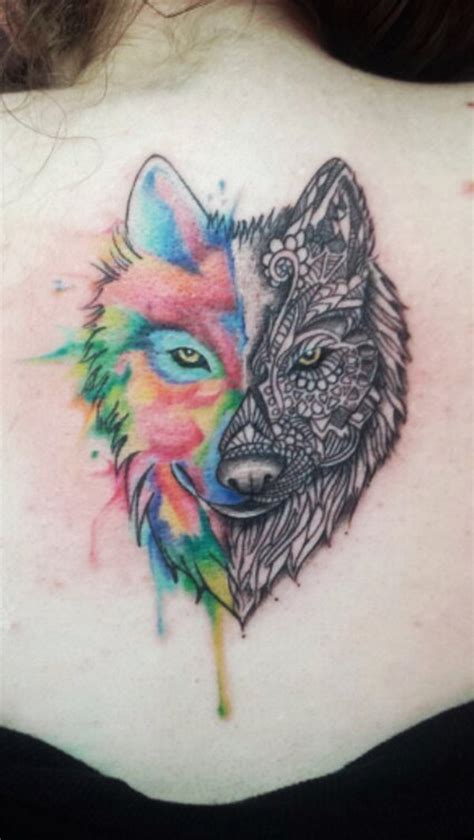stunning colorful tattoos     jealous part