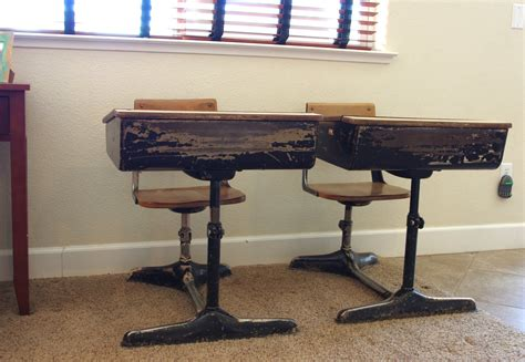 Ideas For School Desks by Post Refinishing Project Happiness Is