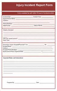 incident report template incident report template 15 free documents in