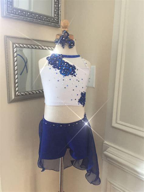 Handmade On Algonquin Il - handmade dancewear 2 custom lyrical costume blue or pink