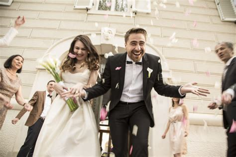 8 creative alternatives to a traditional wedding exit toss hellogiggles