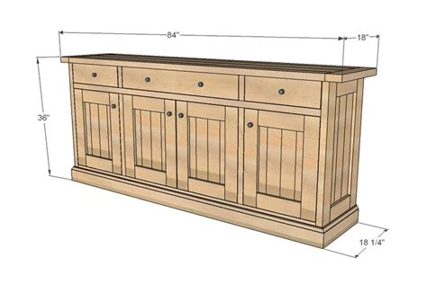 how to make a buffet cabinet 1000 images about buffet building plans on pinterest