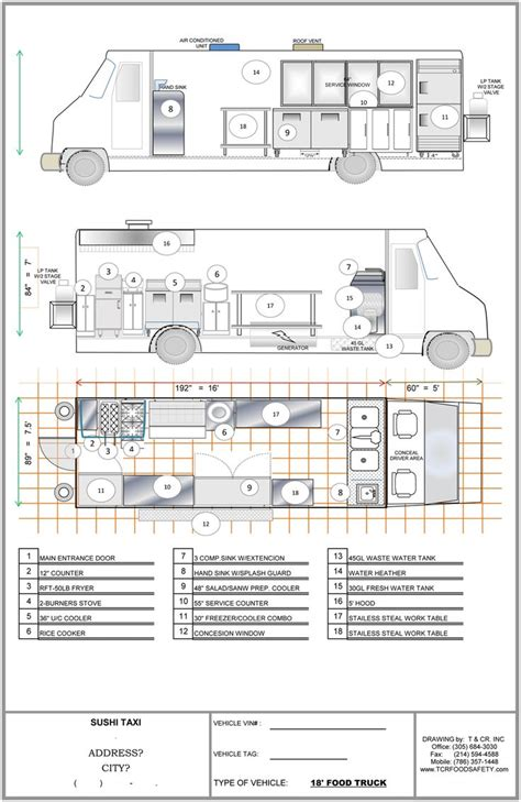 interior design layout sle food inspiration food truck plans fashionviral