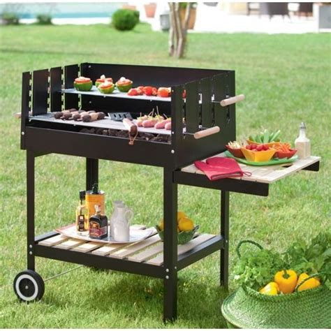 barbecue charbon pas cher 1958 barbecue a charbon quot tobago quot hesperide achat vente