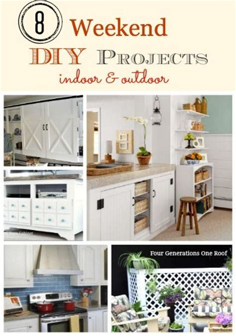 diy weekend projects our 8 top weekend diy projects