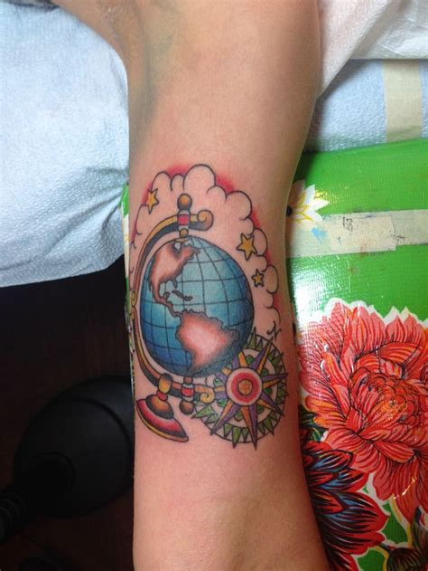 globe tattoo ideas globe american traditional search ideas