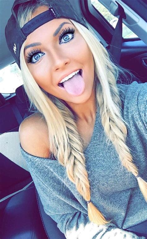 blonde hairstyles instagram follow me fishtail and love her on pinterest