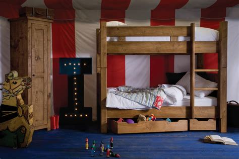 Bunk Beds Uk Sale Junior Plank Bunk Bed Handcrafted By Indigo Furniture