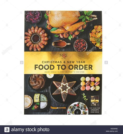 marks and spencer xmas food gifts white marks stock photos white marks stock images alamy