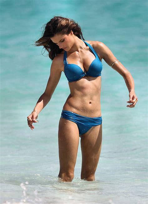 Alessandra Ambrosio Models Swim Wear by Alessandra Ambrosio Shooting The Vs Swimsuit Catalog A