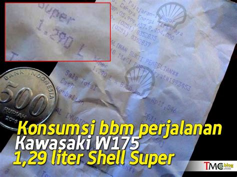 Tas Motor Kawasaki W175 vlog test konsumsi bbm kawasaki w175 dipakai turing