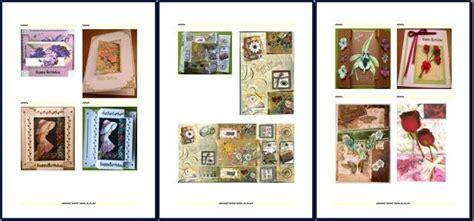 Handmade Catalog - catalog fancy shaped and folded cards ginas handmade