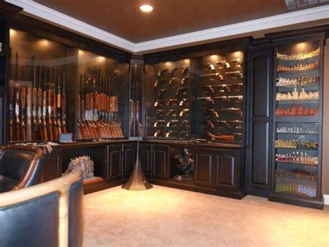 built in gun cabinet built in gun cabinet