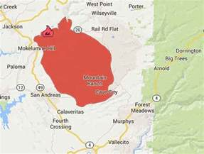 wildfire map california northern california map california map