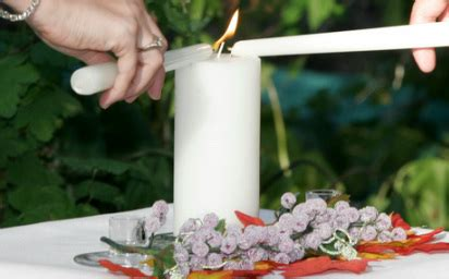 lighting of the unity candle symbolic gestures palm springs weddings same