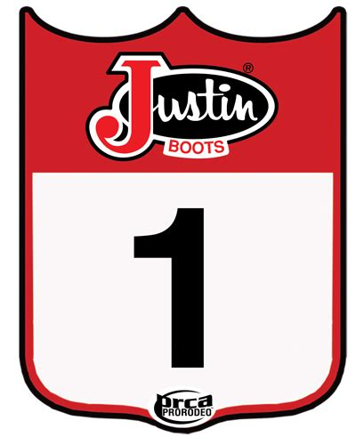 printable rodeo numbers john justin standard of the west program starsports inc