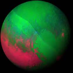 what color is the planet pluto pluto nasa