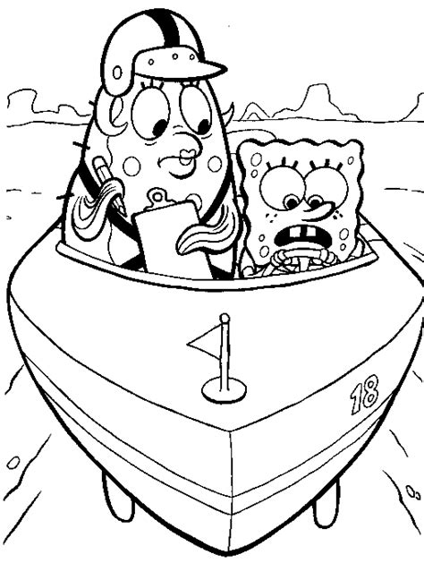 coloring pages free printable spongebob spongebob squarepants coloring pages coloringpages1001 com