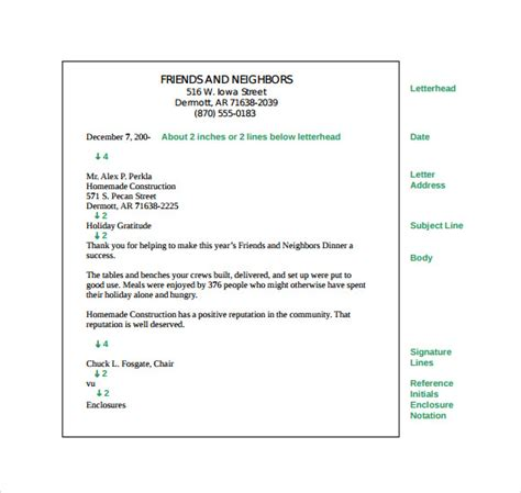 parts   business letter    documents
