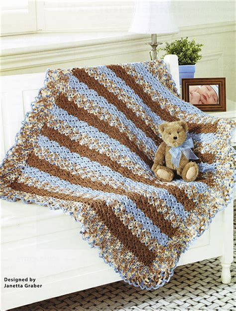 mary maxim free easy zigzag afghan knit pattern sweet baby blankets the best of mary maxim from knitpicks
