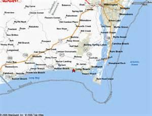 oak island carolina map oak island nc access images