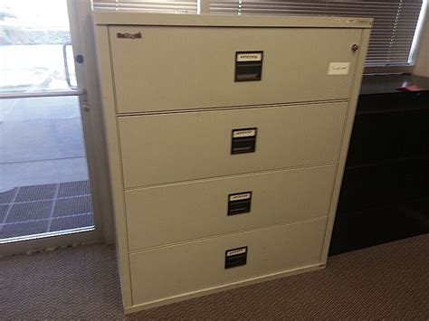 used king fireproof lateral filing cabinets