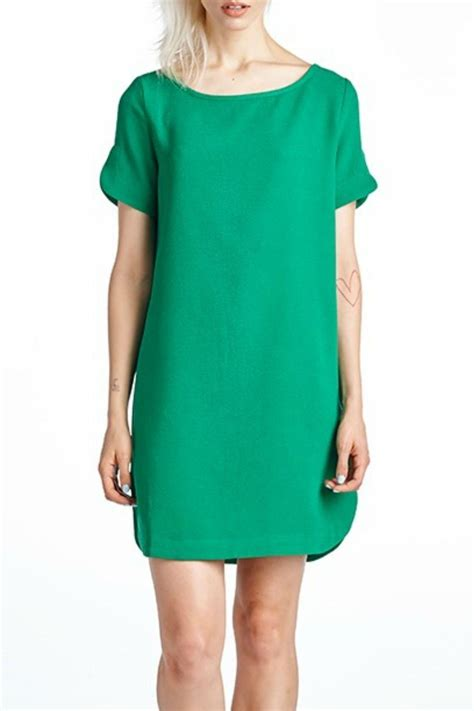 Branded Green Dress For And Size 7y Until 14y mittoshop green shift dress from kentucky by cocabelle boutique shoptiques