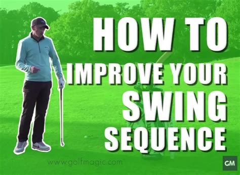 how to get a better golf swing golf instruction tip how to improve you golfmagic