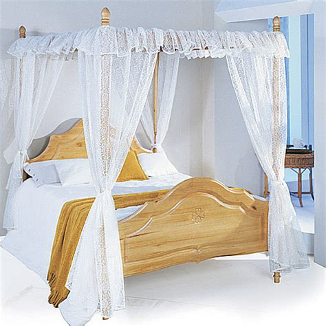 Four Poster Bed With Curtains | set of lace curtains for four poster bed