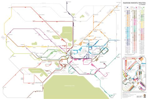 Of Nairobi School Of Business Mba Projects by Researchers Map Nairobi S Informal System Mit Spectrum