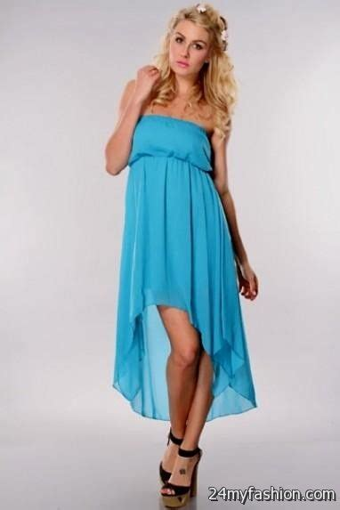 Trend Alert Turquoise Dresses For Fall by Turquoise Strapless Summer Dress 2016 2017 B2b Fashion
