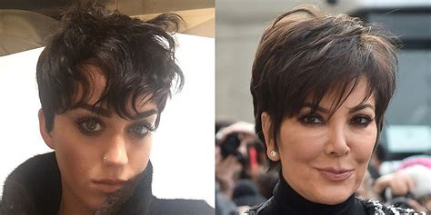 katy perry new kris jenner hairstyle katy perry pixie hair cut popsugar beauty australia