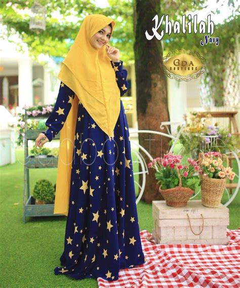 Baju Gamis Denim Halus Baju Gamis Cantik Branded Raindoz Ris 035 supplier baju muslim terbaru