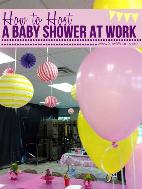 How To Host A Baby Shower by How To Host A Baby Shower At Work Inspiration