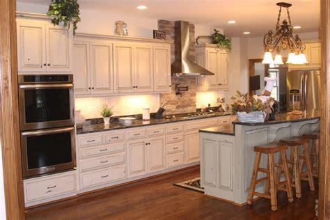 kitchen island rustic shaker kitchen cabinets hickory