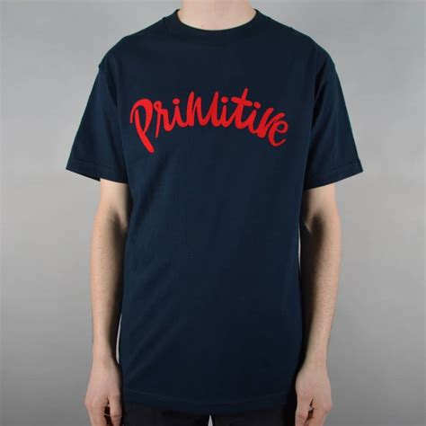 T Shirt Primitive Skateboard primitive apparel dusty skate t shirt navy skate clothing from skate store uk