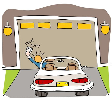 garage cartoon 19 reasons your garage door won t open or close garage