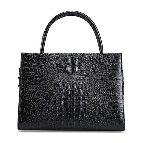 Bag Elegan genuine crocodile handbag