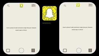 snapchat template for powerpoint and google by mr
