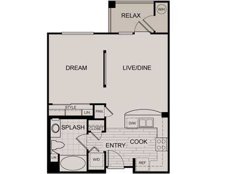 studio loft apartment floor plans luxury apartments for rent at calypso apartments irvine ca