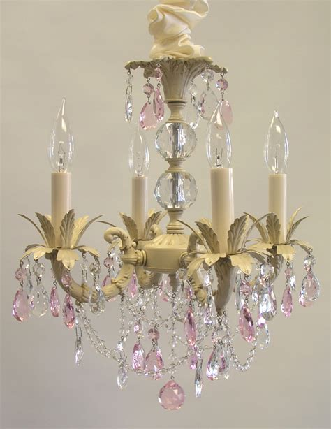 Chandelier Shabby Chic I Lite 4 U Shabby Chic Style Mini Chandeliers Lighting