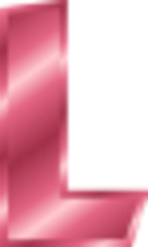 L Pink by The Letter L Fancy Pink Www Imgkid The Image Kid