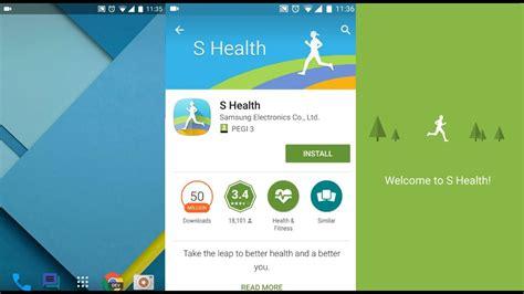 Samsung Health App How To Install Samsung S Health App On Any Device